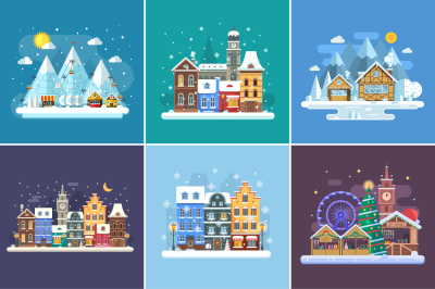 Christmas Travel Winter Backgrounds
