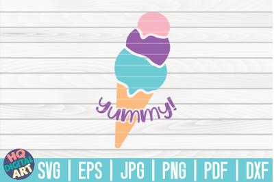 Yummy SVG | Ice Cream SVG