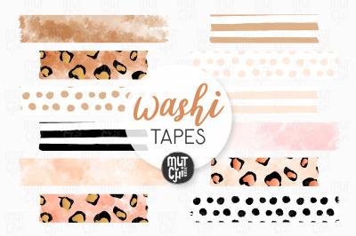 Boho Washi Tapes Cliparts