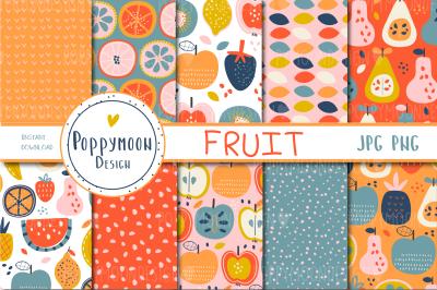 Fruit paper set