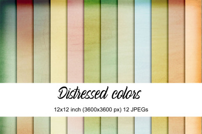 DIstressed colors