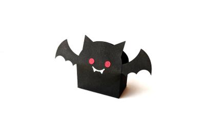 Halloween Vampire Bat Gift Box | SVG | PNG | DXF | EPS