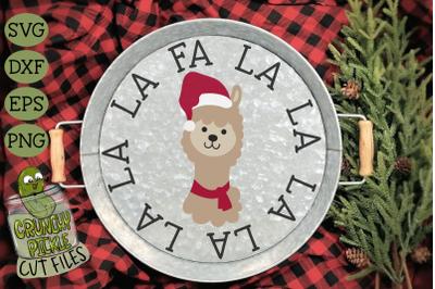 Christmas Llama SVG Cut File