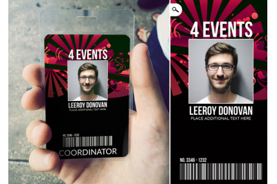 Creative Event Badge