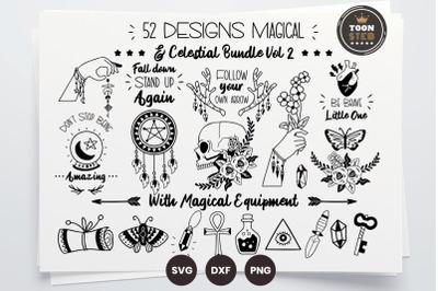 52 DESIGNS Magical & Celestial Bundle Vol 2