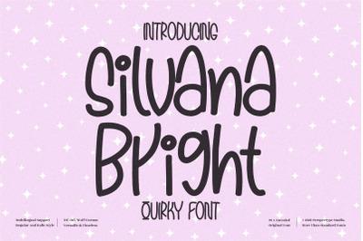 Silvana Bright - Quirky Handwritten Font