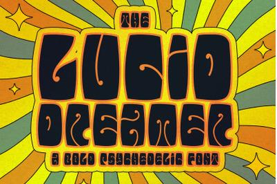 The Lucid Dreamer font