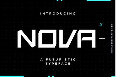 NOVA typeface