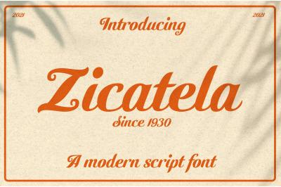 Zicatela Font