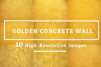 10 Images Golden Concrete Wall