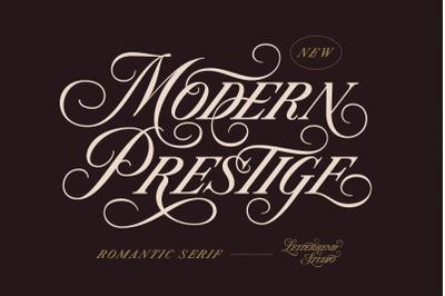 Modern Prestige - Romantic Serif