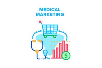 Medical Marketing Health Vector Concept Color