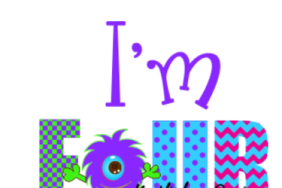 4th Birthday Svg, Four Monster Birthday Svg, Dxf, Eps, Png File, Birthday Svg