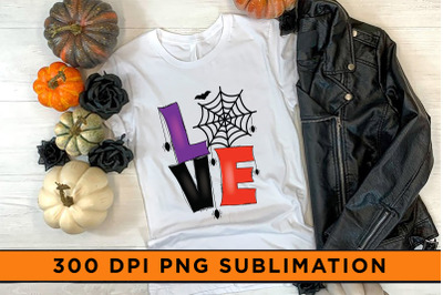 Halloween Sublimation, Love PNG Sublimation