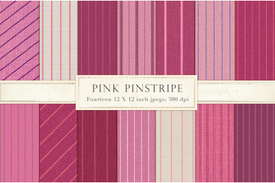 Pink pinstripe backgrounds