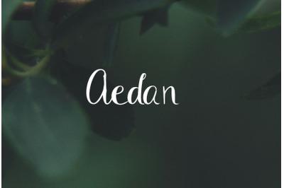 Aedan