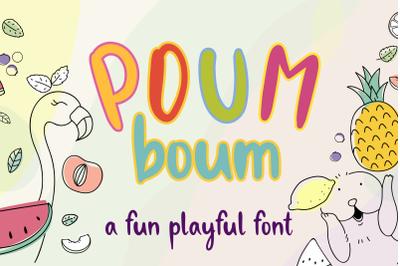 Poum Boum FLASH SALE