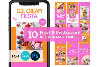 Ice Cream Instagram Story Template