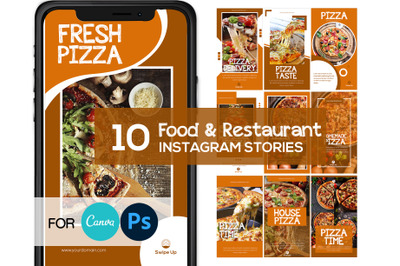 Pizza Food Instagram Story Template