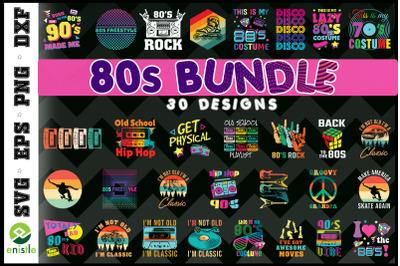80s 90s Bundle Retro Vintage 30 Graphic