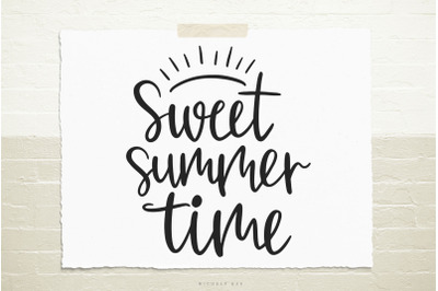 Sweet summer time svg cut file