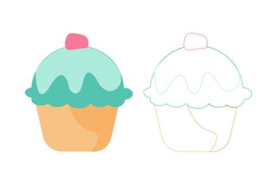 Birthday Cake bundle Icons-25