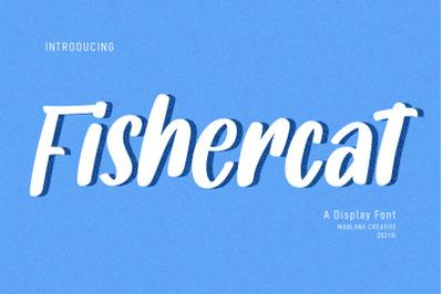 Fishercat Handwritten Font