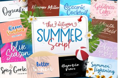 The Autumn Summer Script Bundle