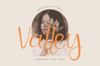 Valley - Beauty Handwritten Font