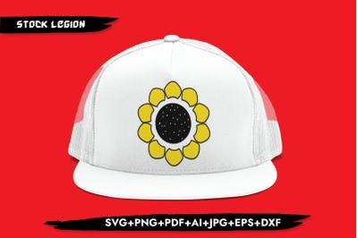 Sunflower Clipart SVG