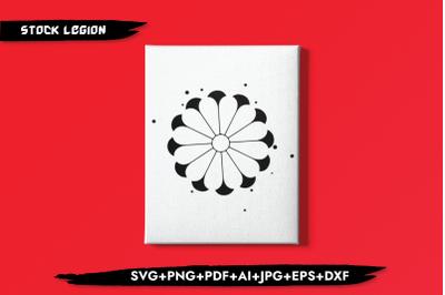 Black Wheel SVG