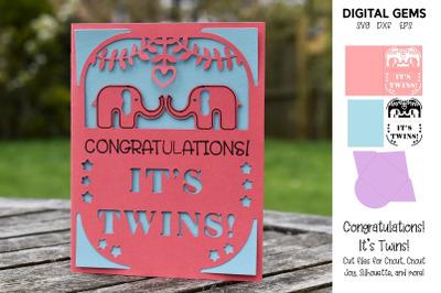 Twin card design