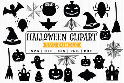 Halloween SVG Clipart Bundle, Halloween SVG Bundle
