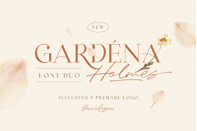 Gardena Holmes - Font Duo (+LOGOS)