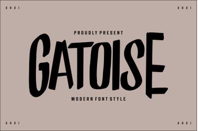 Gatoise | Modern Font