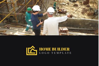 Home Builder Logo Template