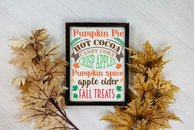 Autumn sign svg, Fall Sign svg