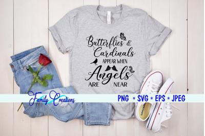 Butterflies & Cardinals Appear when Angels Are Near