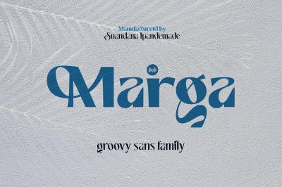 Marga - Groovy Sans Family