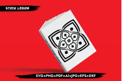 Square Mandala SVG