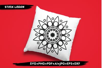 Flower Mandala SVG