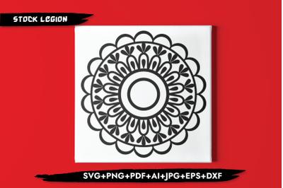 Circular Mandala SVG