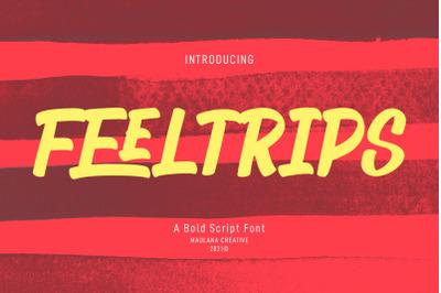 Feeltrips Handwritten Display Font