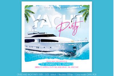 Yacht Cruise Flyer