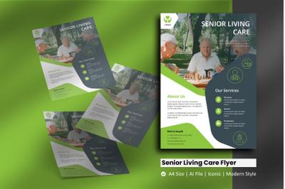 Senior Living Care Vol2 Flyer Template