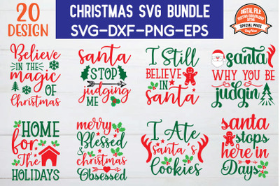 Christmas Svg Bundle vol-3