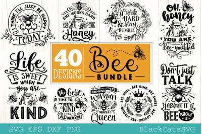 Bee Bundle SVG 40 designs