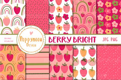 Berry Bright paper set