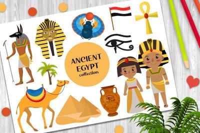 Ancient Egypt vector clip art+ PNG