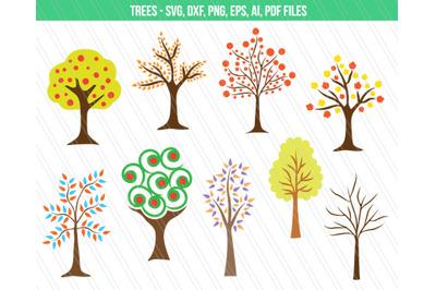 Tree SVG, Tree Vector,  Tree clip art
